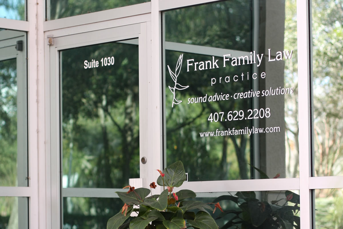 Why You Should Trust Frank Family Law with Your Legal Needs