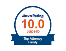 Avvo Rating - Top Attorney Family